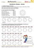 Zeiteneinheiten: Stunden - Minuten