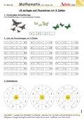 10 zerlegen und Plusrechnen mit 3 Zahlen