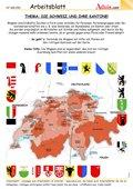 Die Schweiz und ihre Kantone