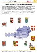 Österreich und seine Bundesländer