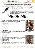 Kängurus - die Haustiere Australiens