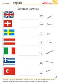 European countries - Do you know any flags?