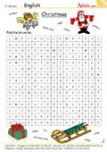 Christmassy crossword - Can you find everything?