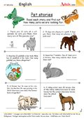 Pet stories - How many animals are left?