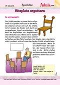 Sitzplatz ergattern