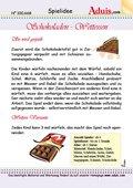 Schokoladen - Wettessen