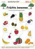 Früchte richtig benennen