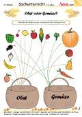 Obst oder Gemüse