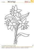 Malvorlage Glockenbluemchen