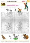 Kreuzworträtsel Tiere