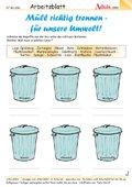 Müll richtig trennen - für unsere Umwelt