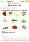 Obst oder Gemüse - kennst du dich aus?