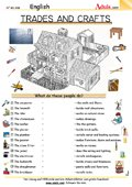 Trades and crafts - All needed to build a house
