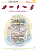 Gedicht - Nikolaus im Walde