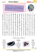 Worträtsel Schmuck- und Edelsteine