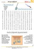 Worträtsel Küche Materialien
