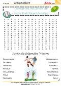 Worträtsel Ballspiele