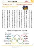 Worträtsel Sommersport - Olympische Spiele