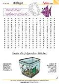 Worträtsel Süßwasserfische
