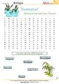 Worträtsel Pflanzen im und ums Wasser
