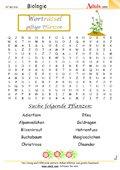Worträtsel Giftpflanzen