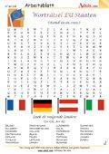 Worträtsel EU-Mitgliedsstaaten (Stand 01.01.2011)