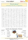 Worträtsel 10 Berufe mit dem Buchstaben L