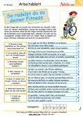 Fahrradfahren macht fit