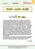 """""""Stadt - Land - Fluss"""" Spiel"""