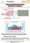 Klima und natürliche Vegetation Österreichs