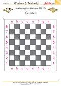 Spielvorlage Schach für Multispiel, N° 200.176