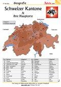 Schweizer Kantone und ihre Hauptorte