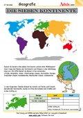 Die sieben Kontinente