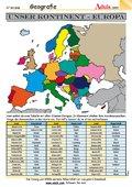 Unser Kontinent - Europa