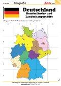 Deutschland - Bundesländer und Landeshauptstädte