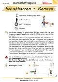 Schubkarren - Rennen