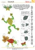 Figuren mit Blättern