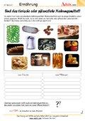tierische oder pflanzliche Nahrungsmittel