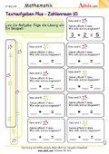 Textaufgaben Plus - Zahlenraum 10