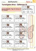 Textaufgaben Minus - Zahlenraum 10