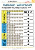 Addition Zahlenraum 20