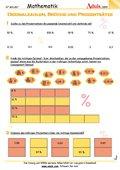 Dezimalzahlen Brüche und Prozentsätze