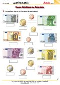 Unsere Geldmünzen und Geldscheine