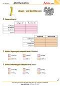 Längen- und Gewichtsmaße