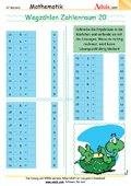 Wegzählen Zahlenraum 20