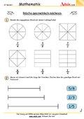 Brüche geometrisch zeichnen