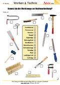 Kennst du die Werkzeuge für Holzbearbeitung?