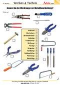 Kennst du die Werkzeuge für Metallbearbeitung?