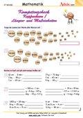 Kompetenzcheck Kopfrechnen/ Längen- Maßeinheiten