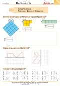 Kompetenzcheck Flächen / Brüche / Symmetrie